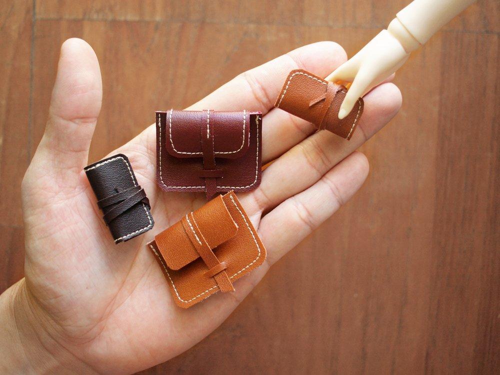 BJD Handmade Miniature Purse 手工包