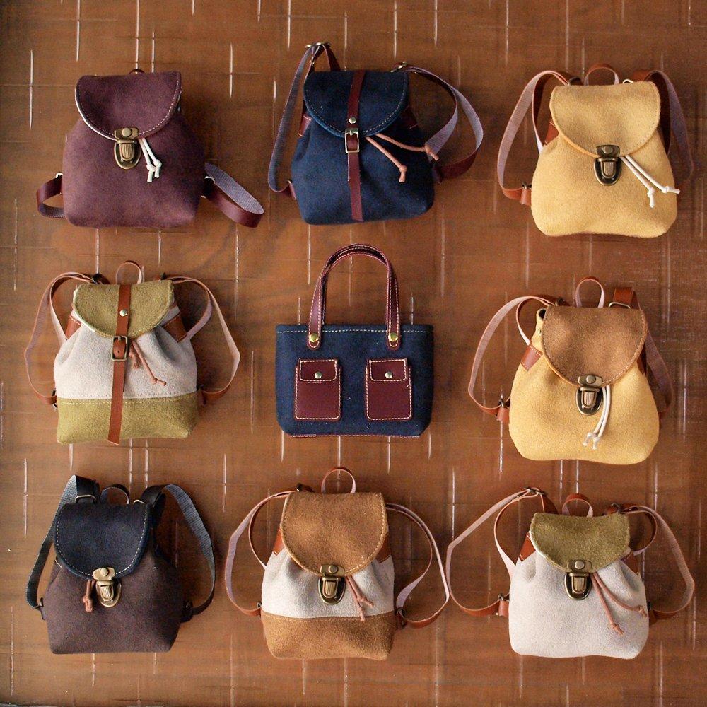 BJD Handmade Miniature Backpack 手工後背包